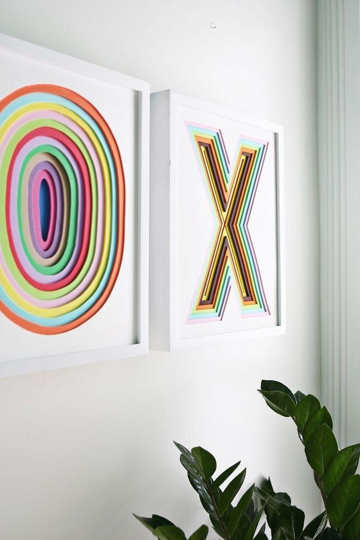 Paper Wall Art, Paper Throughout Diy 3D Wall Art Decor (View 8 of 15)