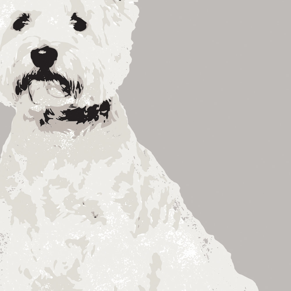 Paperpaintpixels With Regard To Well Known Westie Wall Art (View 7 of 15)