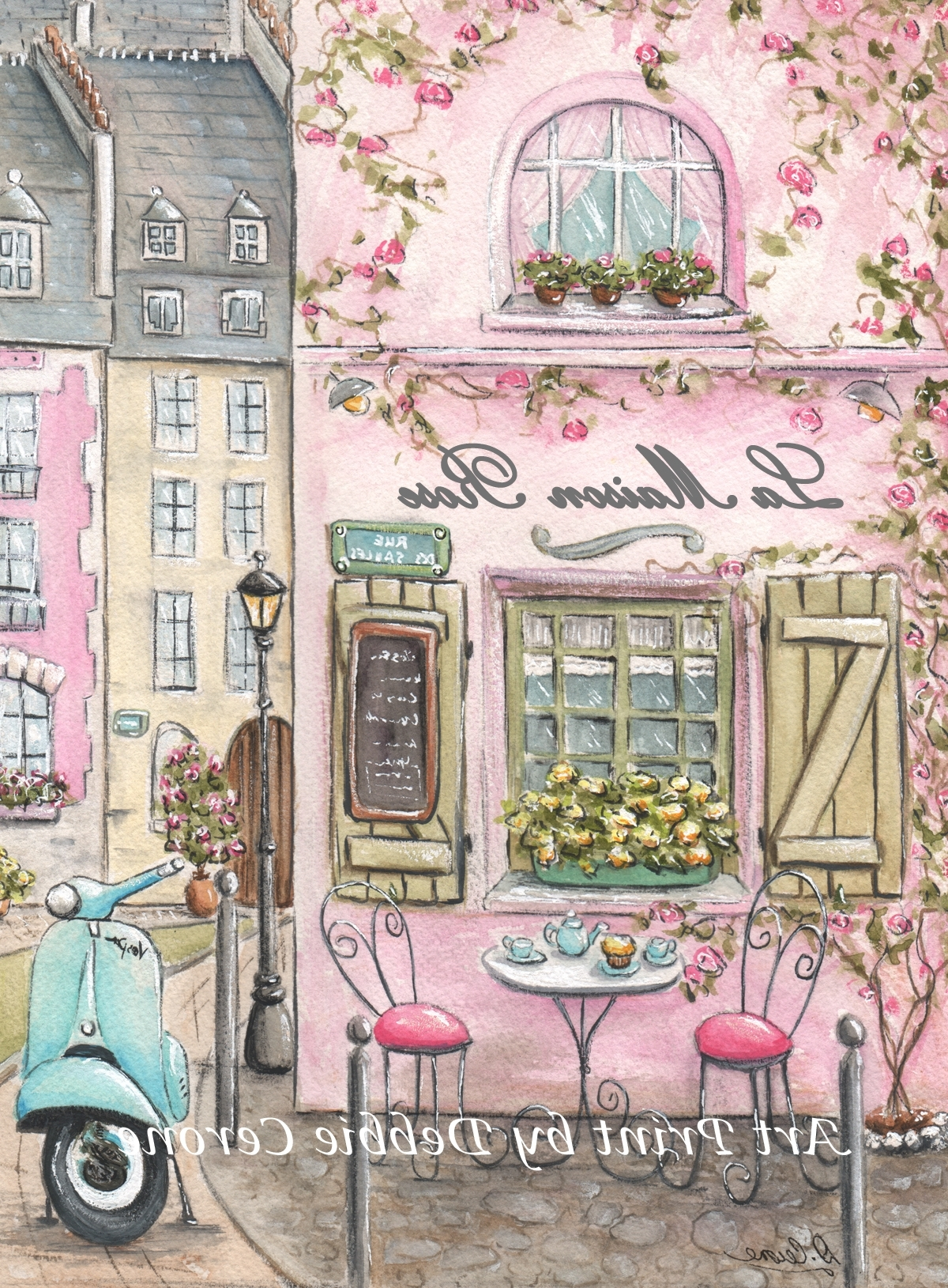 Parisian Wall Art Regarding Famous Paris Bedroom Decor, Nursery Girl Paris Art, Paris Decor (View 10 of 15)