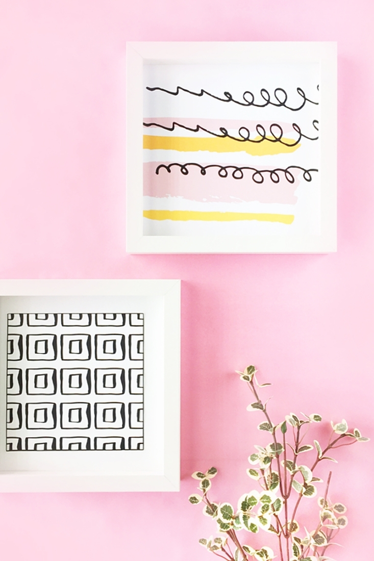 Pastel Abstract Wall Art In Most Recently Released Diy Pastel Abstract Wall Artmaritza Lisa (View 8 of 15)