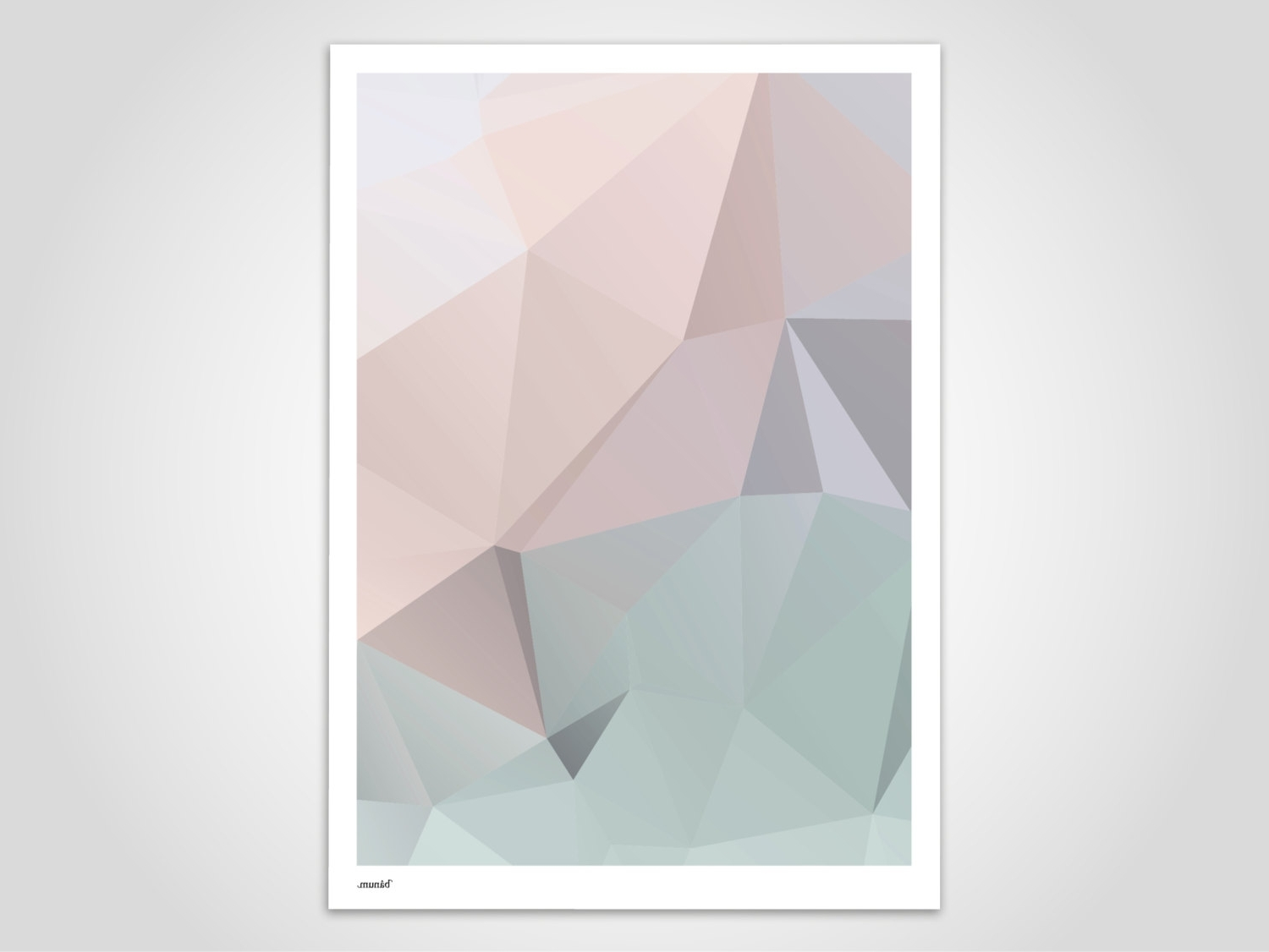 Pastel Abstract Wall Art Pertaining To Recent Pastel 2 – Modern Poster, Abstract Art Prints, Modern Wall Art (View 6 of 15)