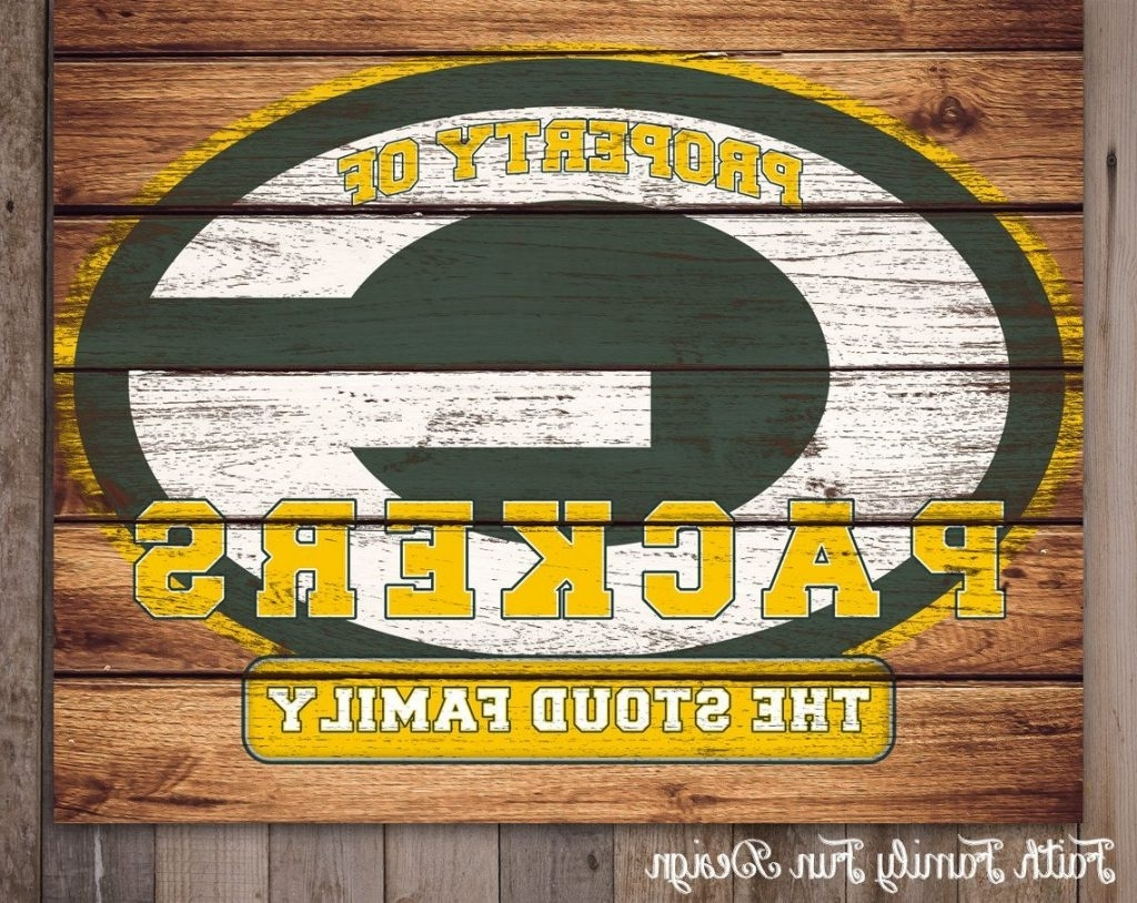 Featured Photo of Green Bay Packers Wall Art