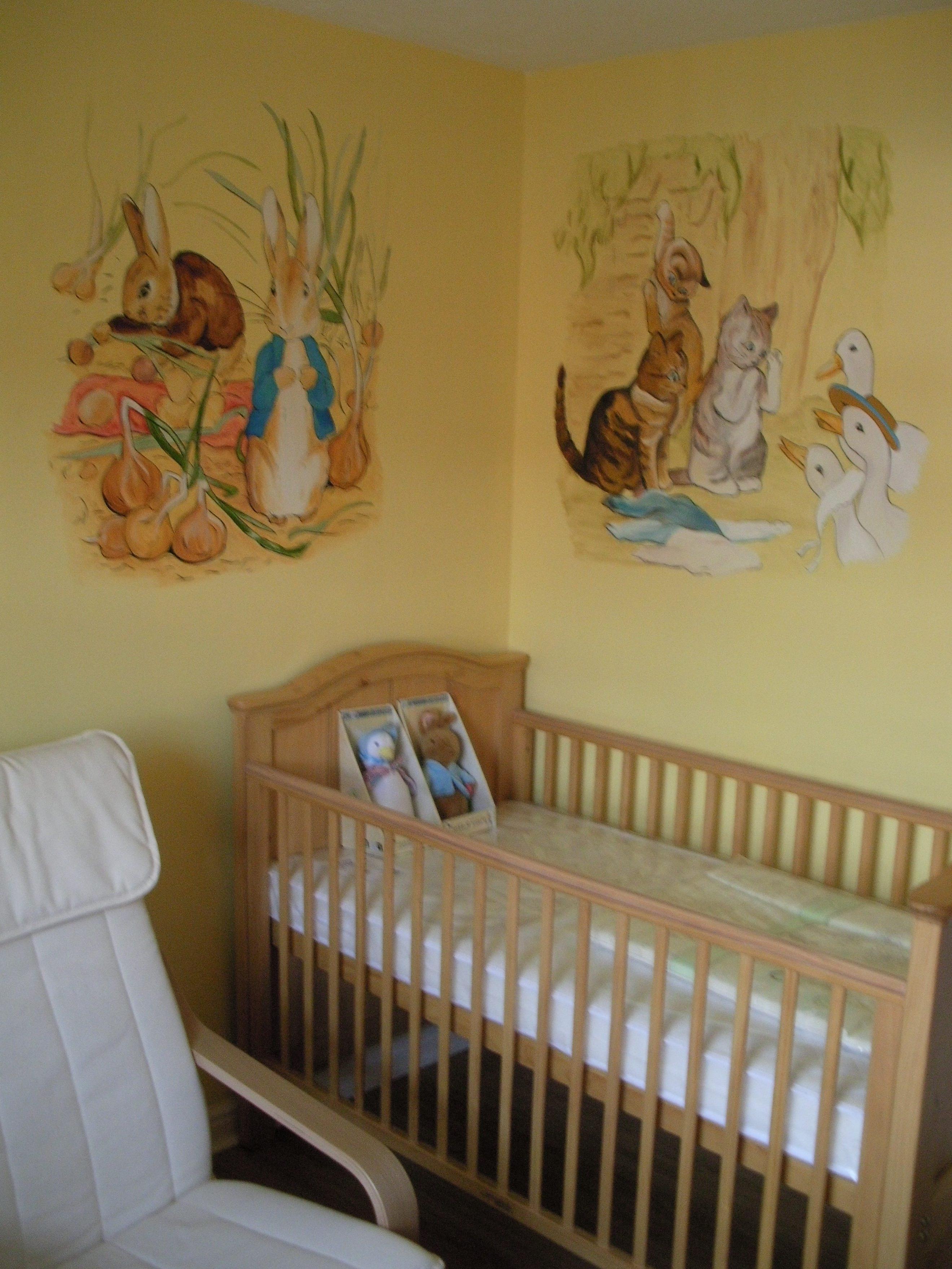 Peter Rabbit Nursery Purple — Modern Home Interiors : Peter Rabbit For Most Current Peter Rabbit Nursery Wall Art (View 8 of 15)