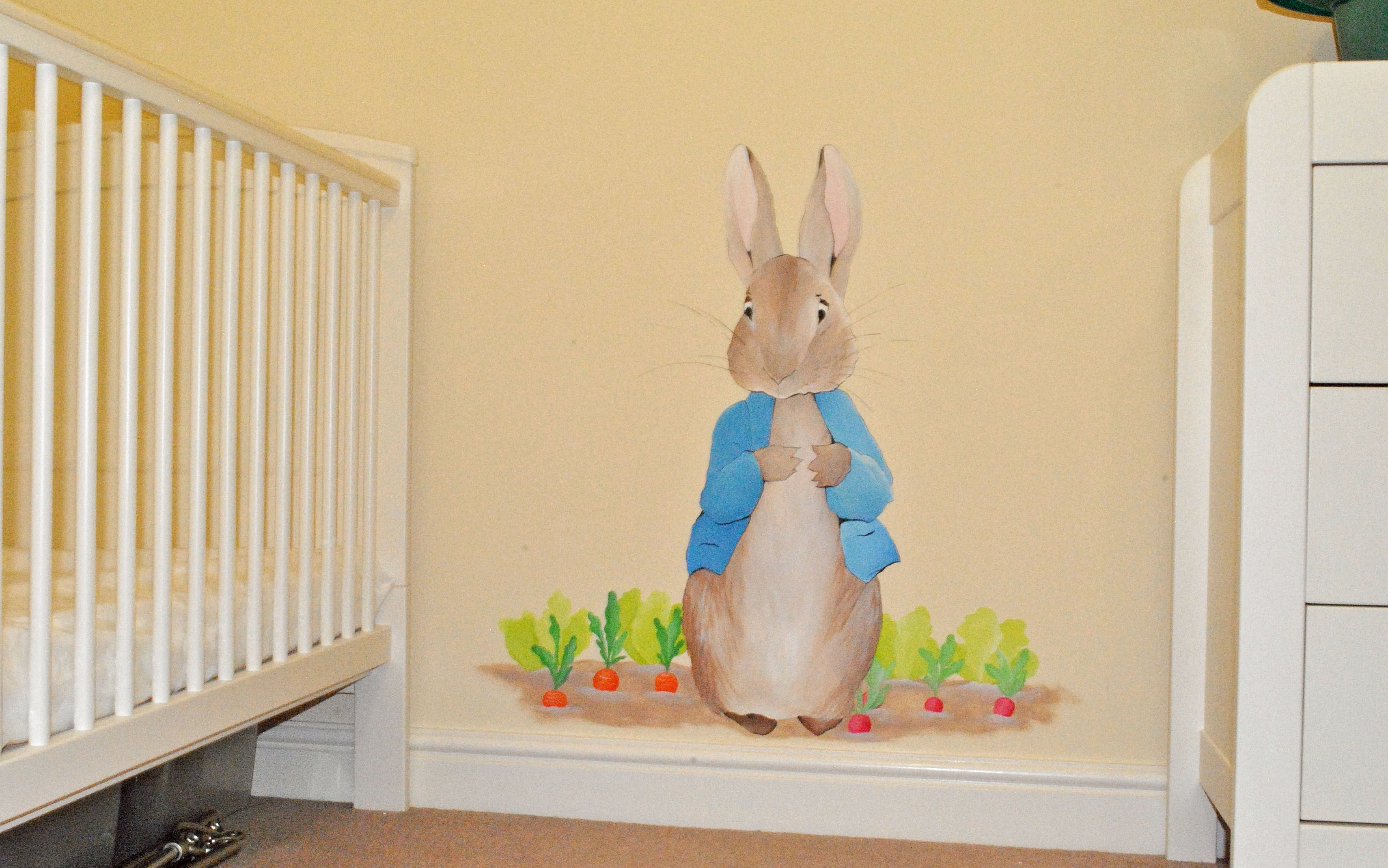 Peter Rabbit Nursery Wall Art In Best And Newest Bedroom: Chic Peter Rabbit Bedroom. Ordinary Bed Design (View 9 of 15)