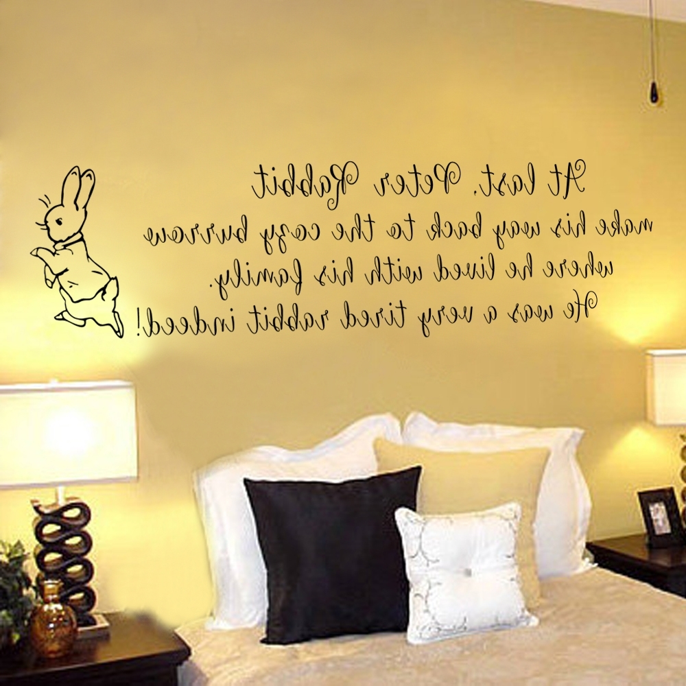 Gallery of Peter Rabbit Nursery Wall Art (View 6 of 15 Photos)