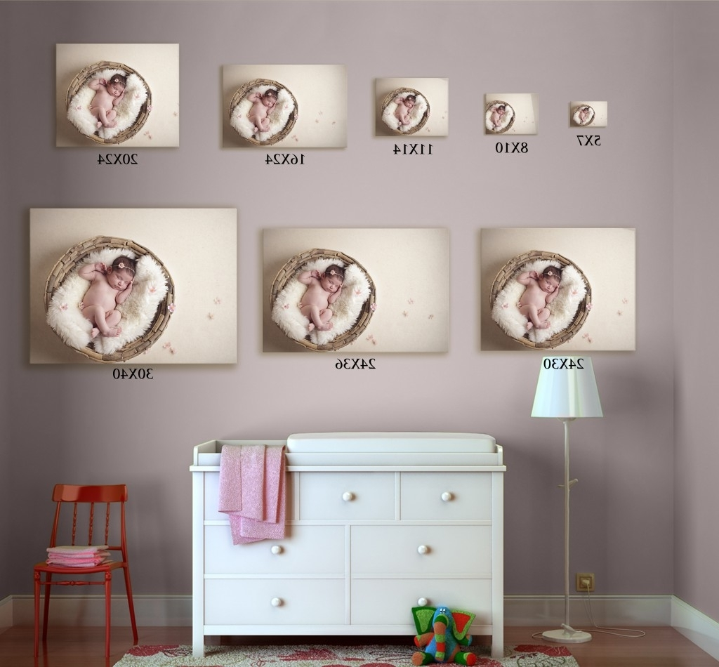 Photography Wall Art With 2017 A Size Comparison Created With The Nursery Template From The (View 11 of 15)