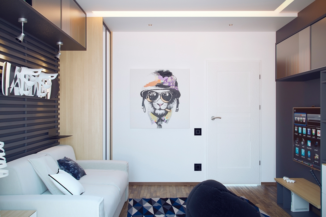 Picturesque Design Ideas Cool Wall Decorations With Art Interior Throughout Most Up To Date Cool Wall Art For Guys (View 12 of 15)
