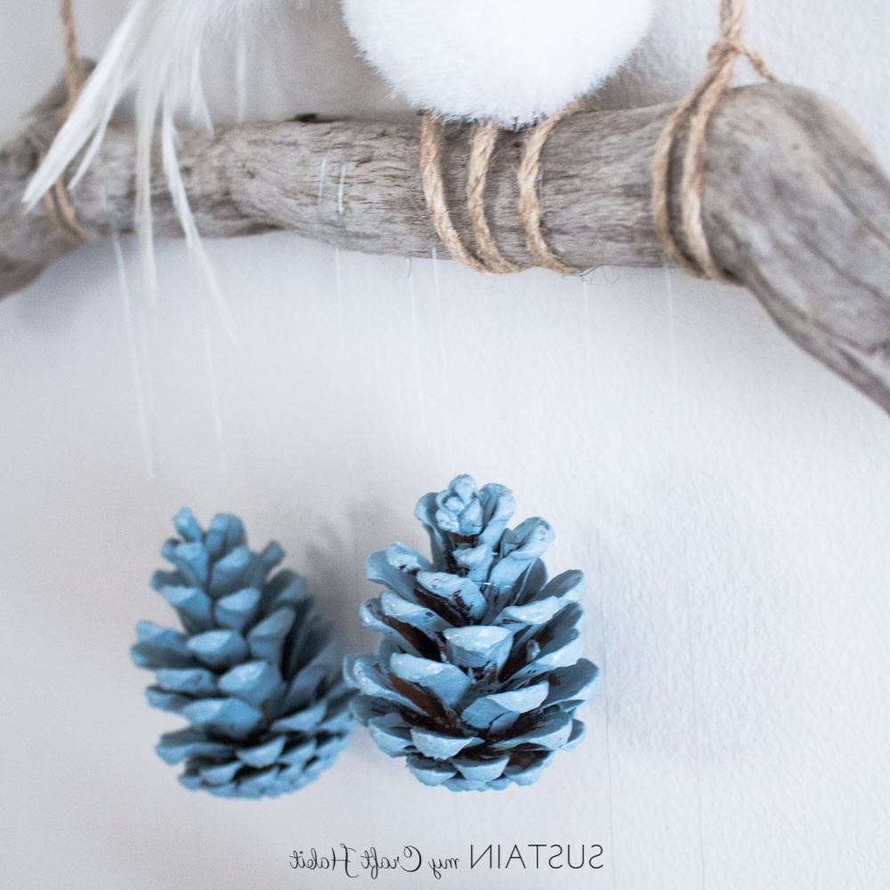 Pine Cone Wall Art Intended For Most Popular Diy Wall Art: Rustic Pinecone Wall Hanging – Sustain My Craft Habit (View 9 of 15)