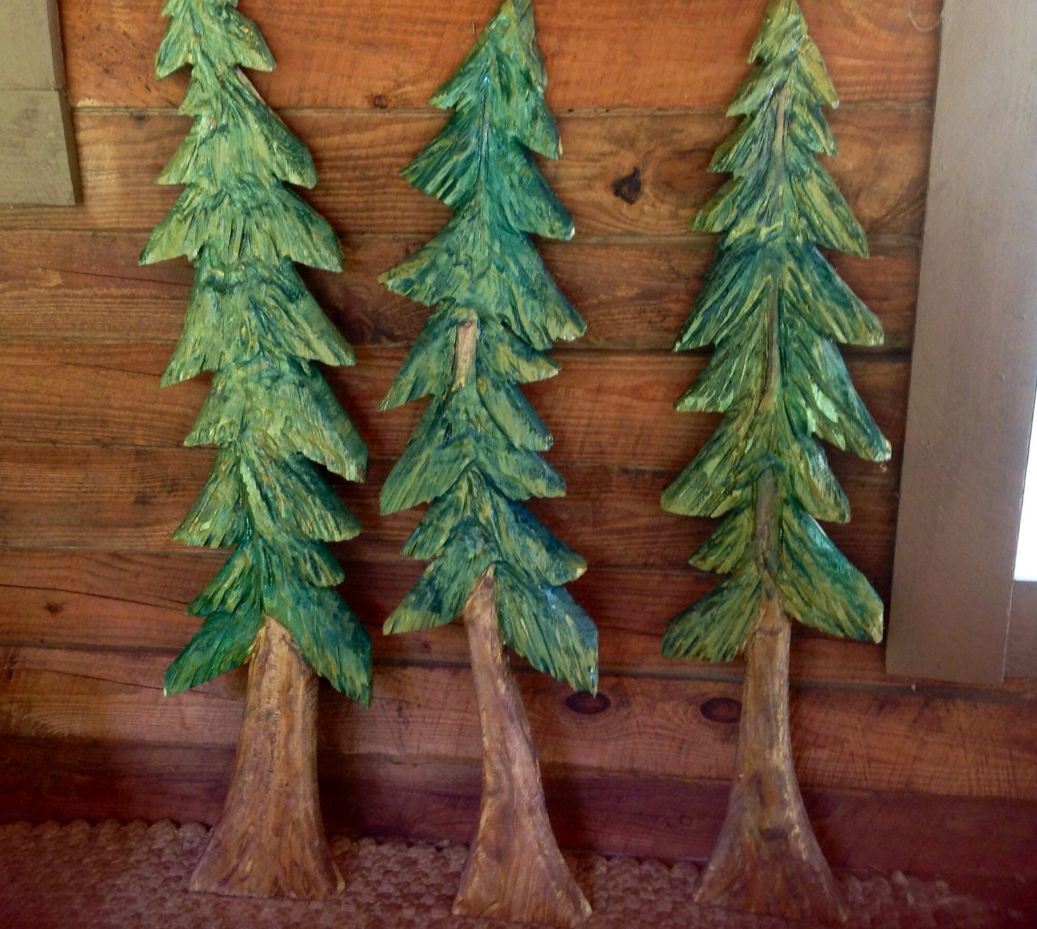 Pine Tree Sculpture 4Ft (View 5 of 15)