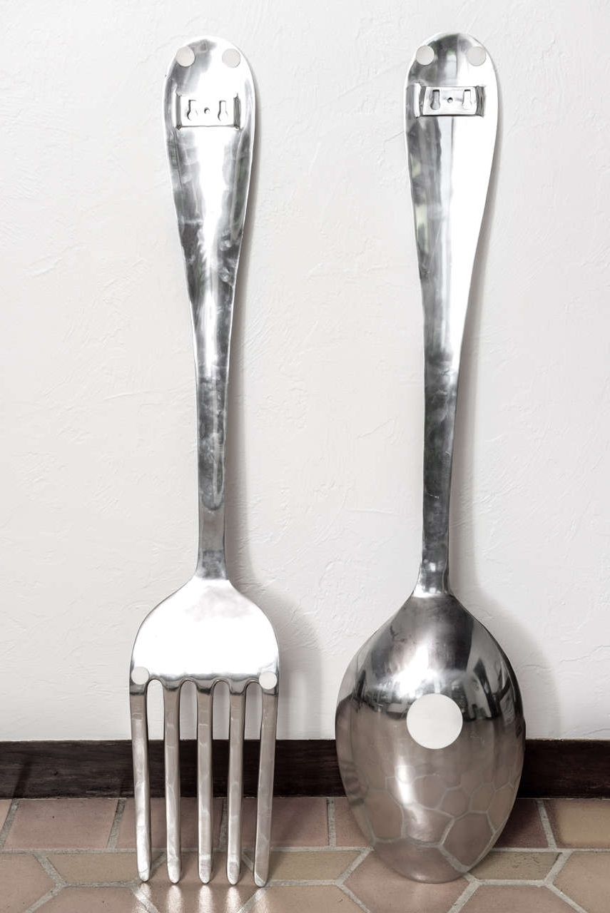 Pinterest In Well Known Giant Fork And Spoon Wall Art (View 12 of 15)