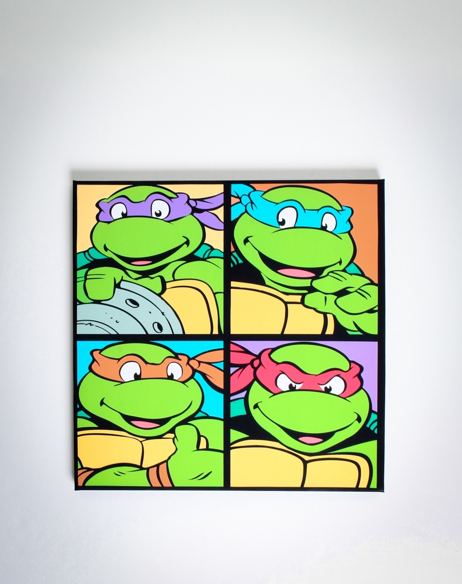 Pinterest In Well Known Tmnt Wall Art (View 4 of 15)