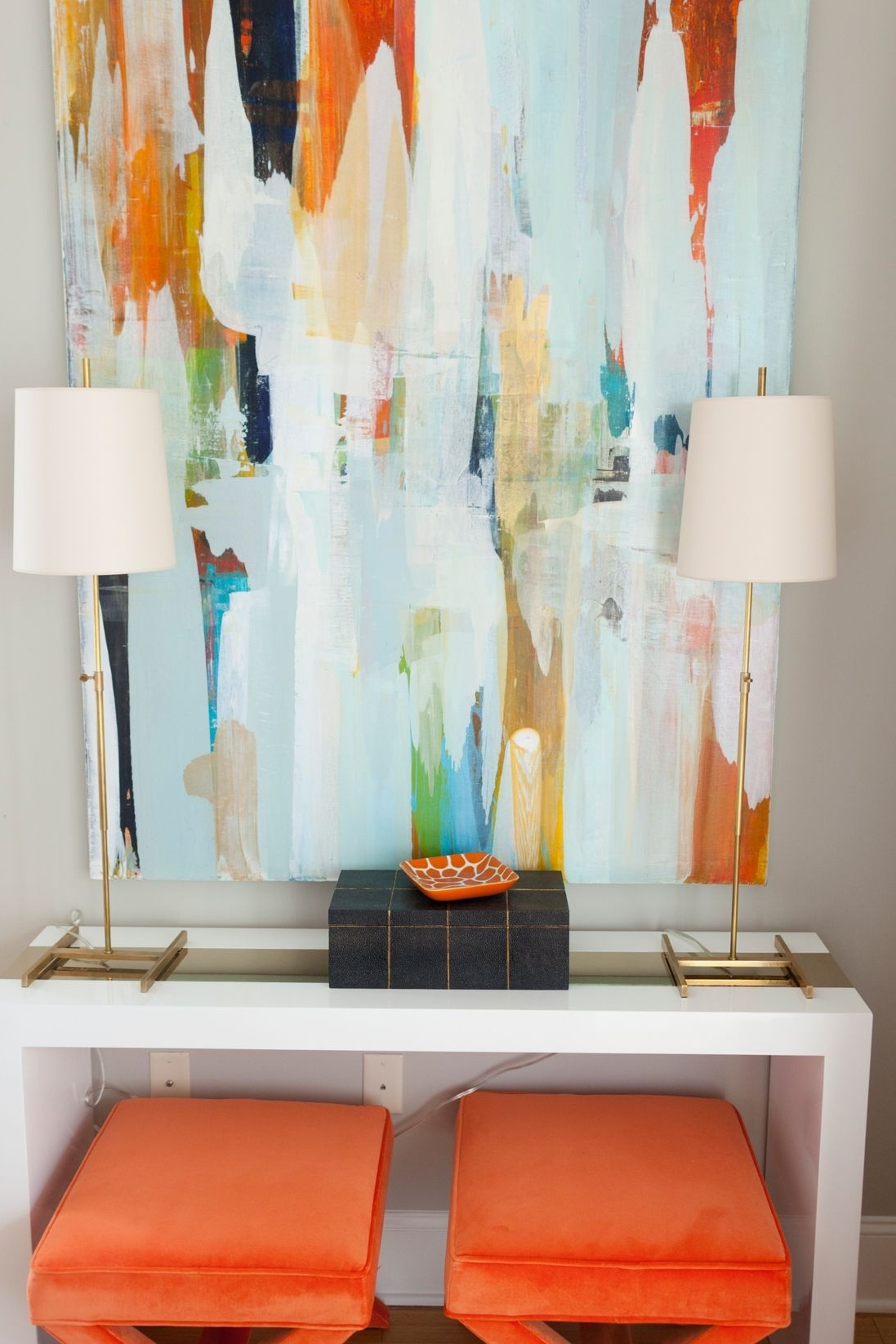 Pinterest Pertaining To Orange And Turquoise Wall Art (View 10 of 15)