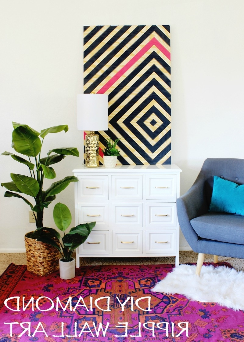 Pinterest Wall Art Decor Pertaining To Latest Diy Wall Art (View 9 of 15)