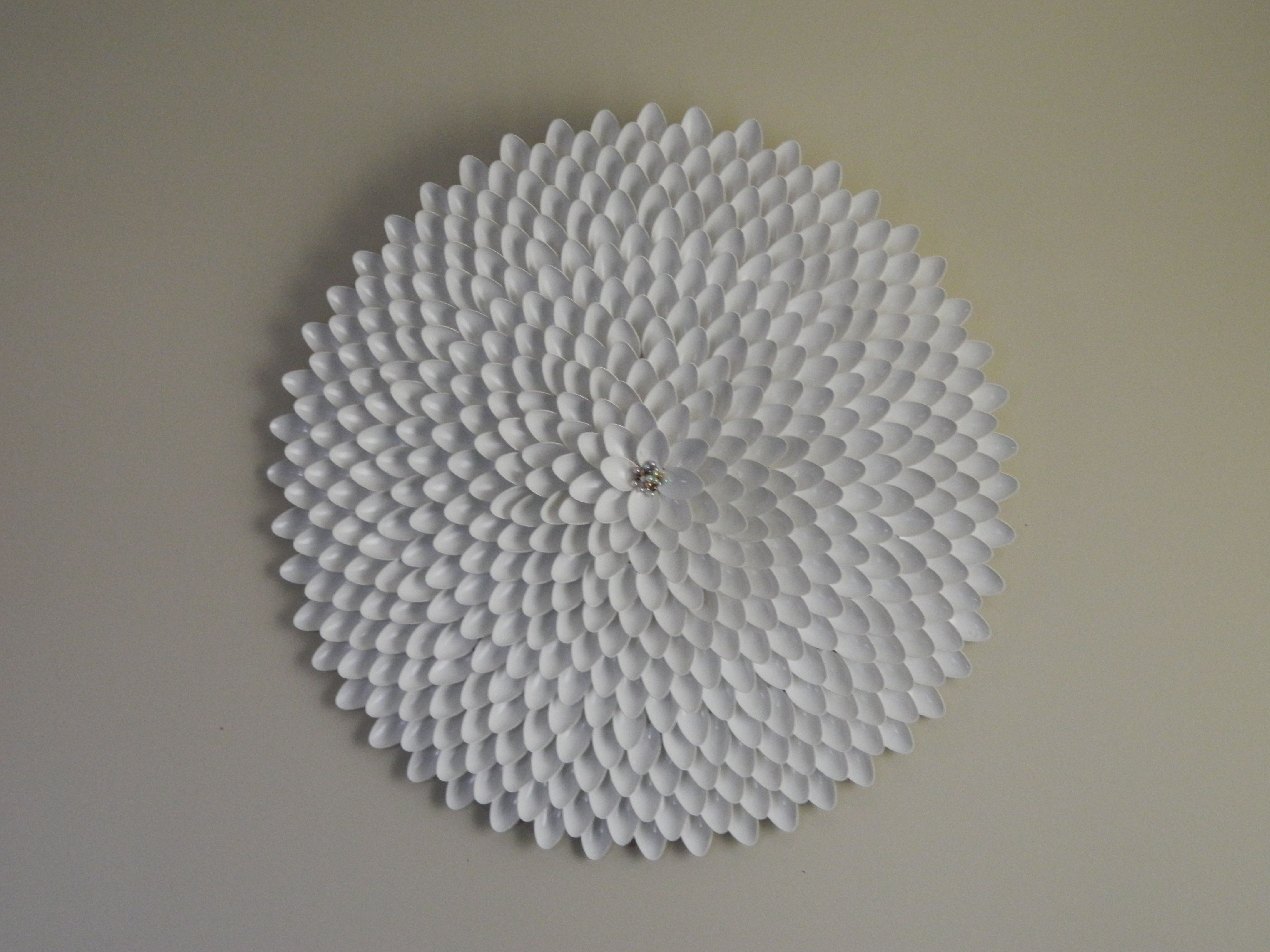 Featured Photo of Plastic Spoon Wall Art