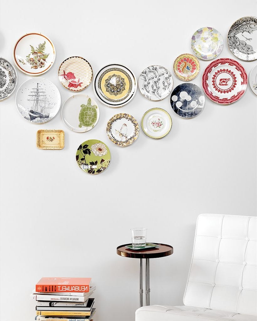 Plate Wall Decor Diy (View 12 of 15)