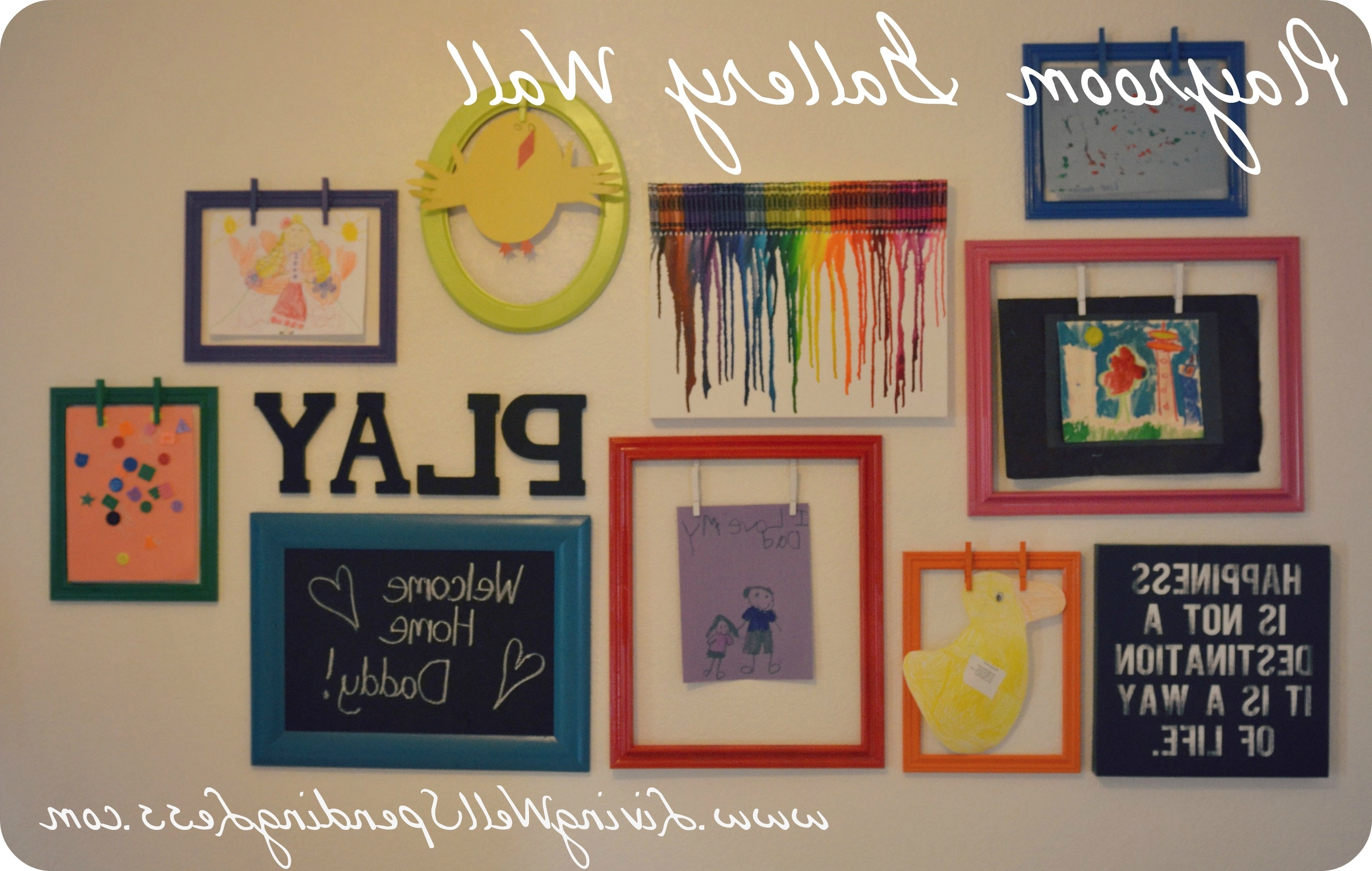 Playroom Wall Art Ideas • Walls Ideas With Most Current Wall Art For Playroom (View 12 of 15)