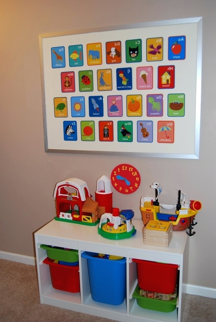 Playroom Wall Art Pertaining To Favorite Best 25 Playroom Art Ideas On Pinterest Display Kids Artwork (View 10 of 15)