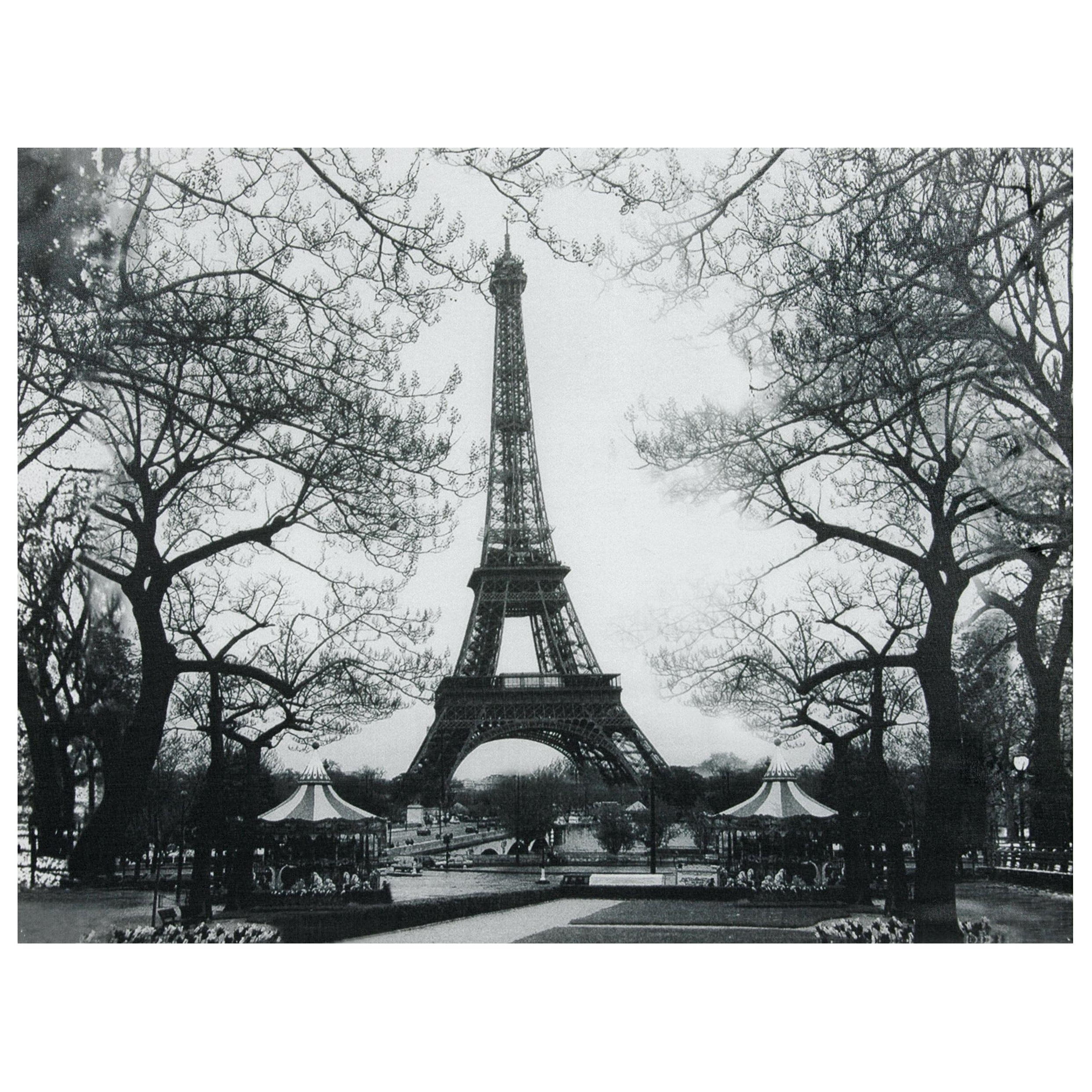 Popular 15 Black And White Canvas Pictures Of Paris Selection (View 12 of 15)