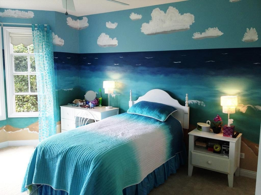 Popular Beach Wall Art For Bedroom For Beach Theme Bedroom Sets Fascinating Beach Theme Bedroom For Beach (View 12 of 15)