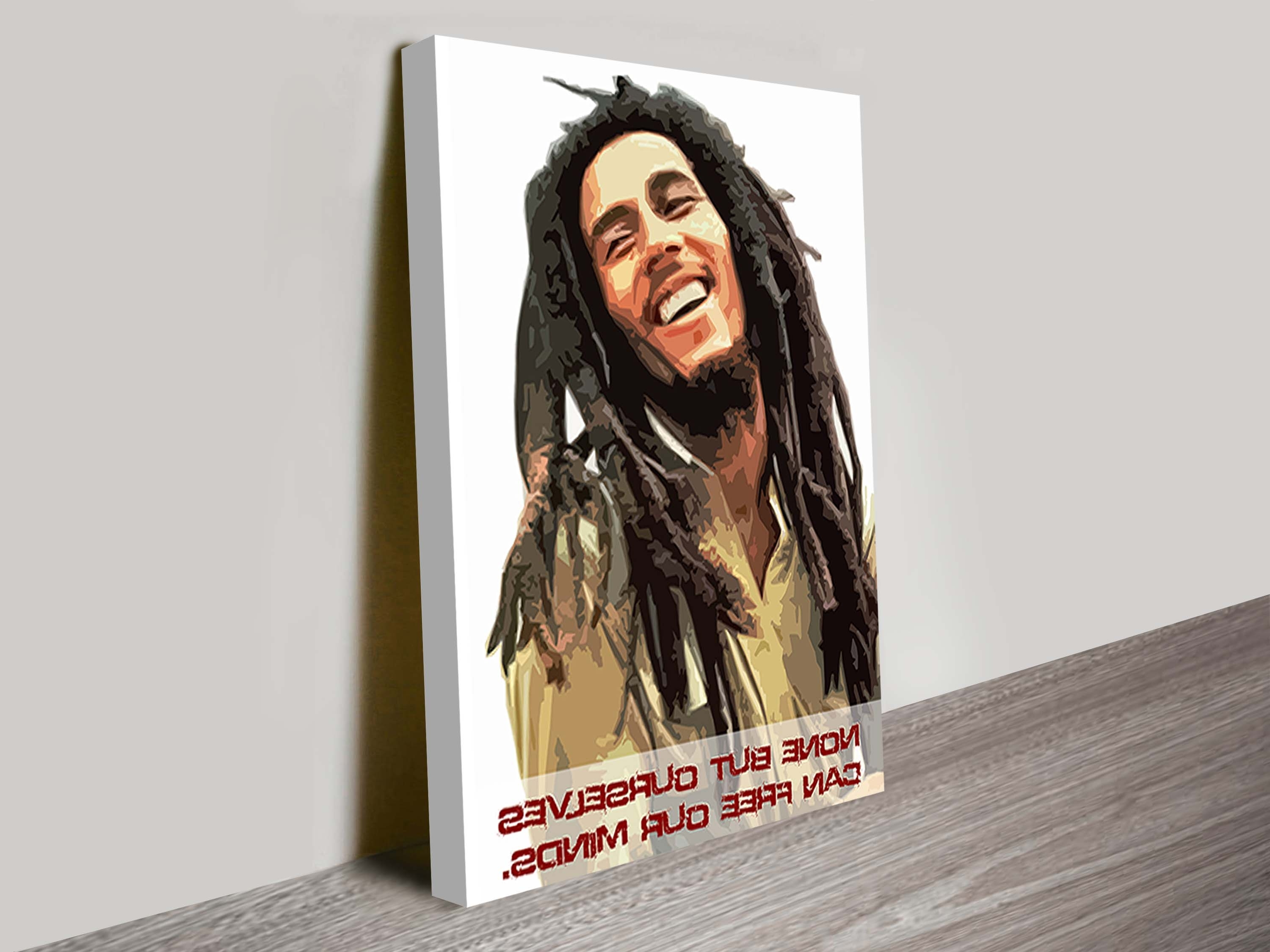 Popular Bob Marley Canvas Wall Art Pertaining To Bob Marley Art Canvas Art Prints (View 12 of 15)