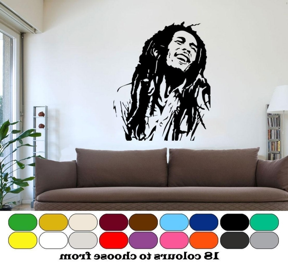 Popular Bob Marley Wall Art With Cheap Bob Marley Wall Art – Bob Marley Splash Colour People Wall (View 13 of 15)