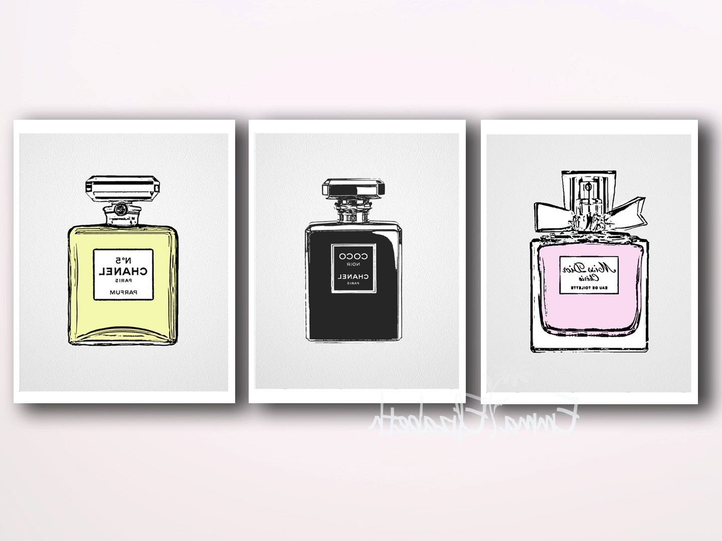 Popular Chanel Wall Decor Inside Chanel Clip Art (49+) (View 8 of 15)