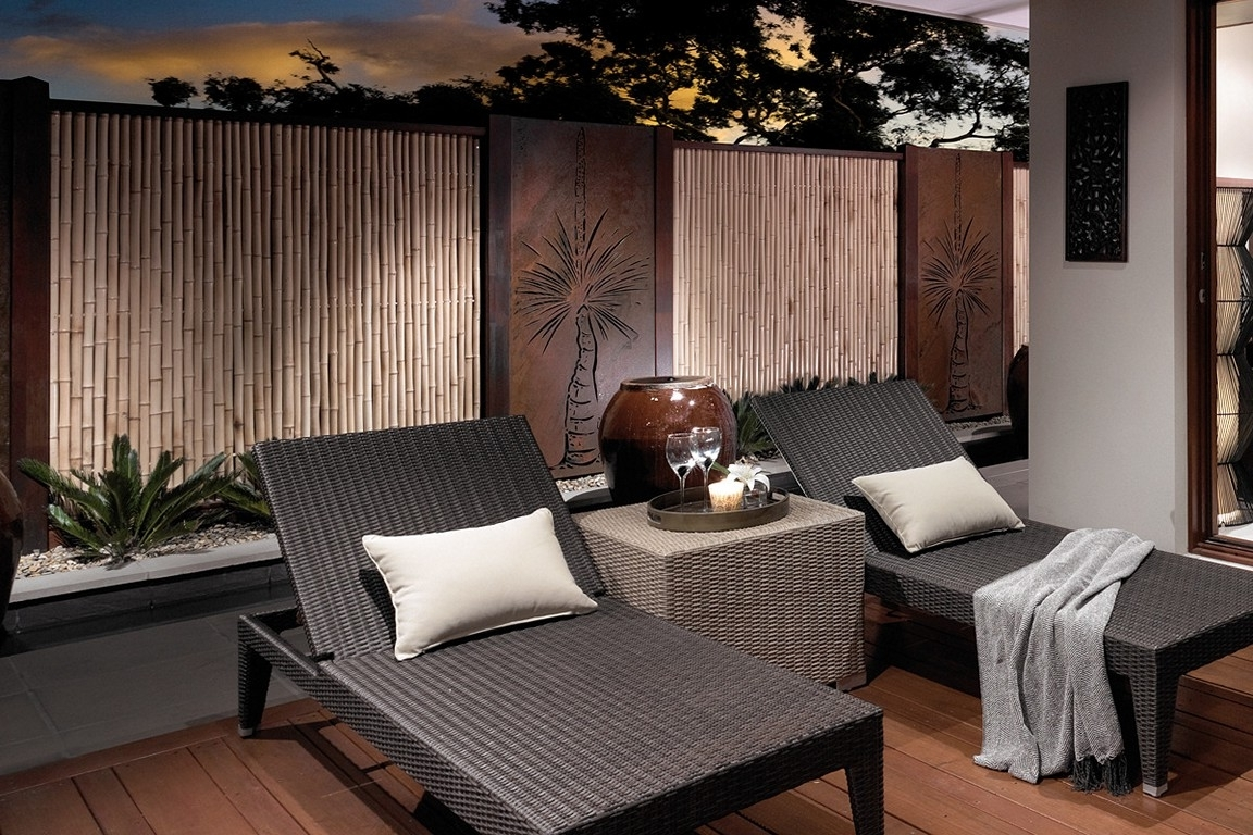Popular Contemporary Outdoor Wall Art With Outdoor Wall Art For Beautiful Yet Attractive Exterior Design (View 6 of 15)