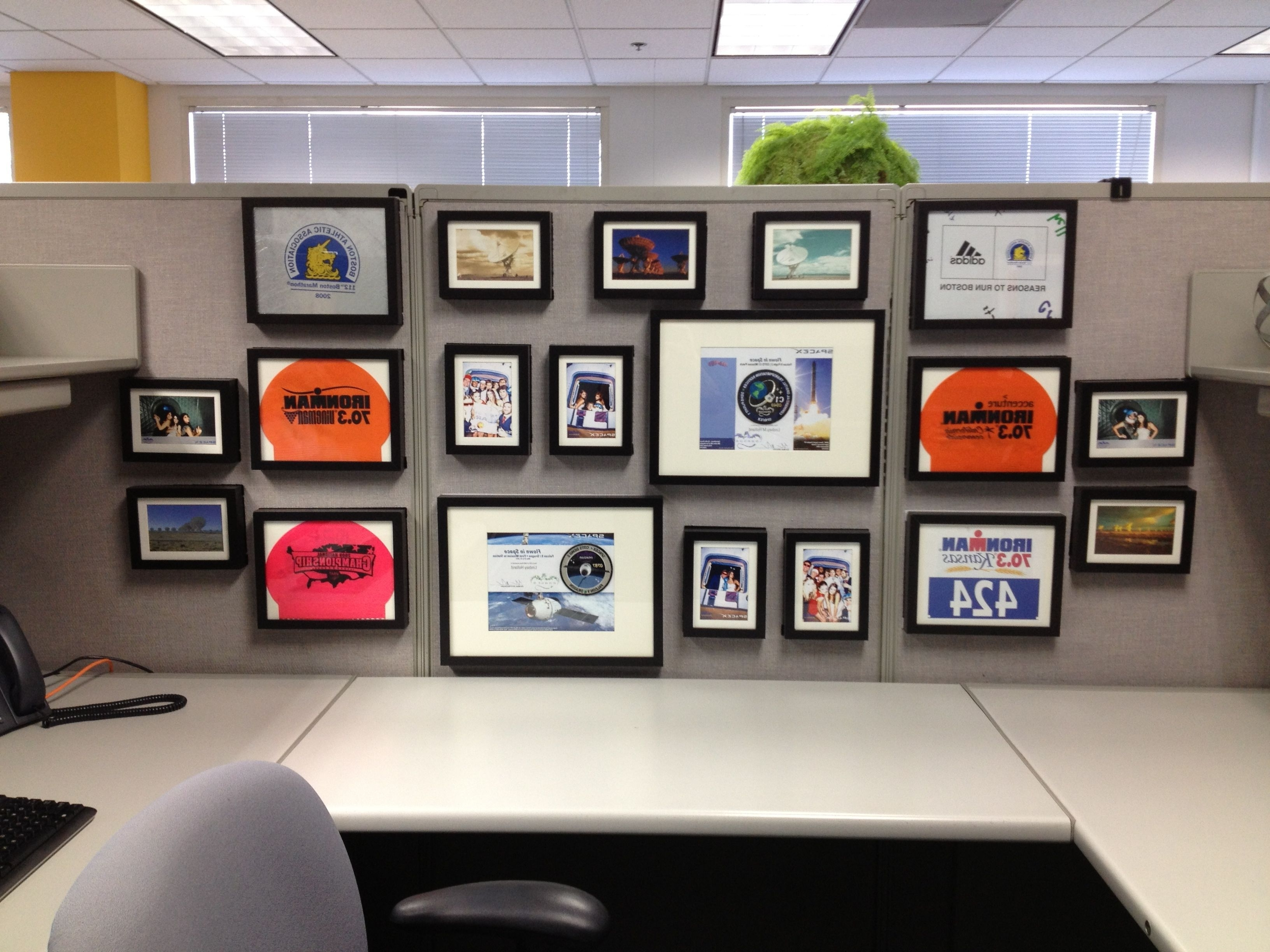Popular Cubicle Wall Art Inside Keep Your #cubicle Walls Classy With Matching Frames In Various (View 3 of 15)