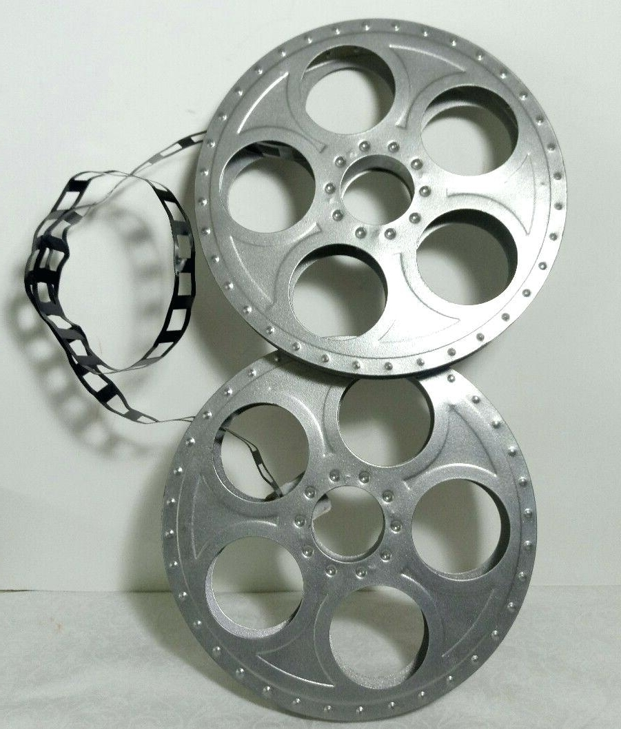 Popular Film Reel Wall Art Within Metal Film Reel Wall Decor • Walls Decor (View 9 of 15)