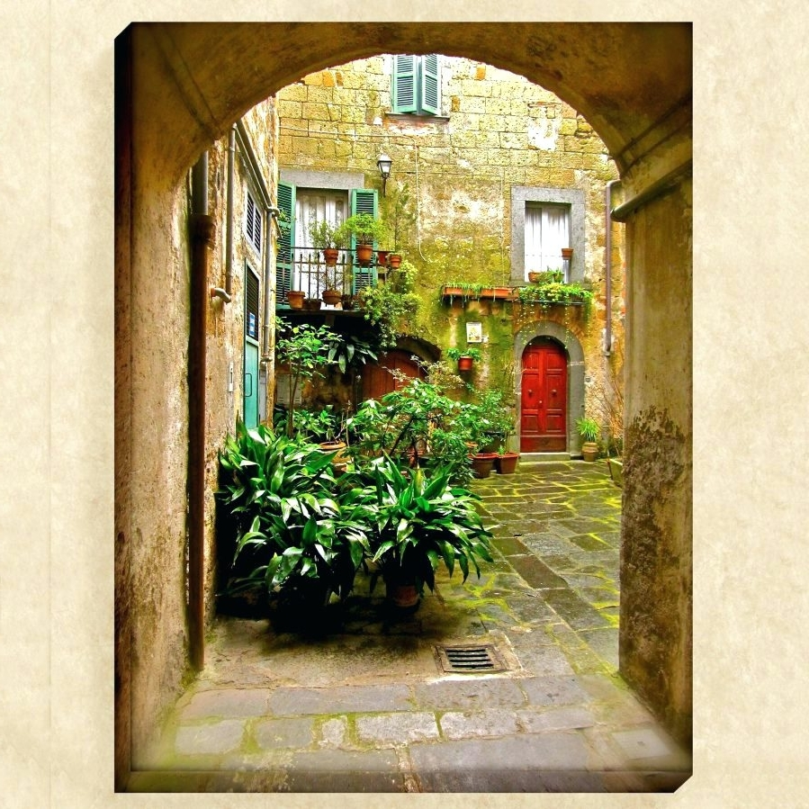 Popular Framed Italian Wall Art Throughout Wall Arts ~ Italian Wall Art For Bedroom Pizarro I Framed Wall Art (View 14 of 15)
