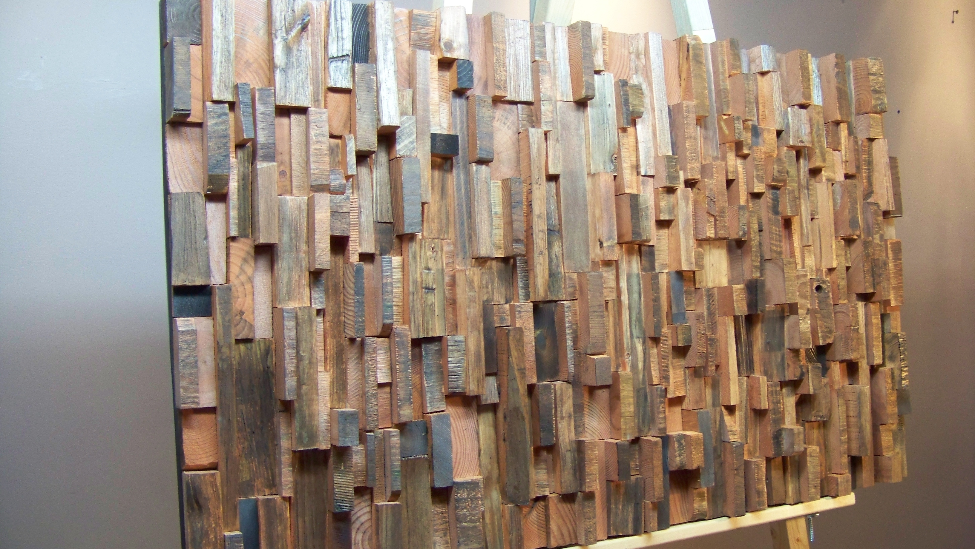 Popular Glomorous Barn Wood Fits Well Along With All Style As Wells As You Inside Wooden Wall Art Panels (View 6 of 15)