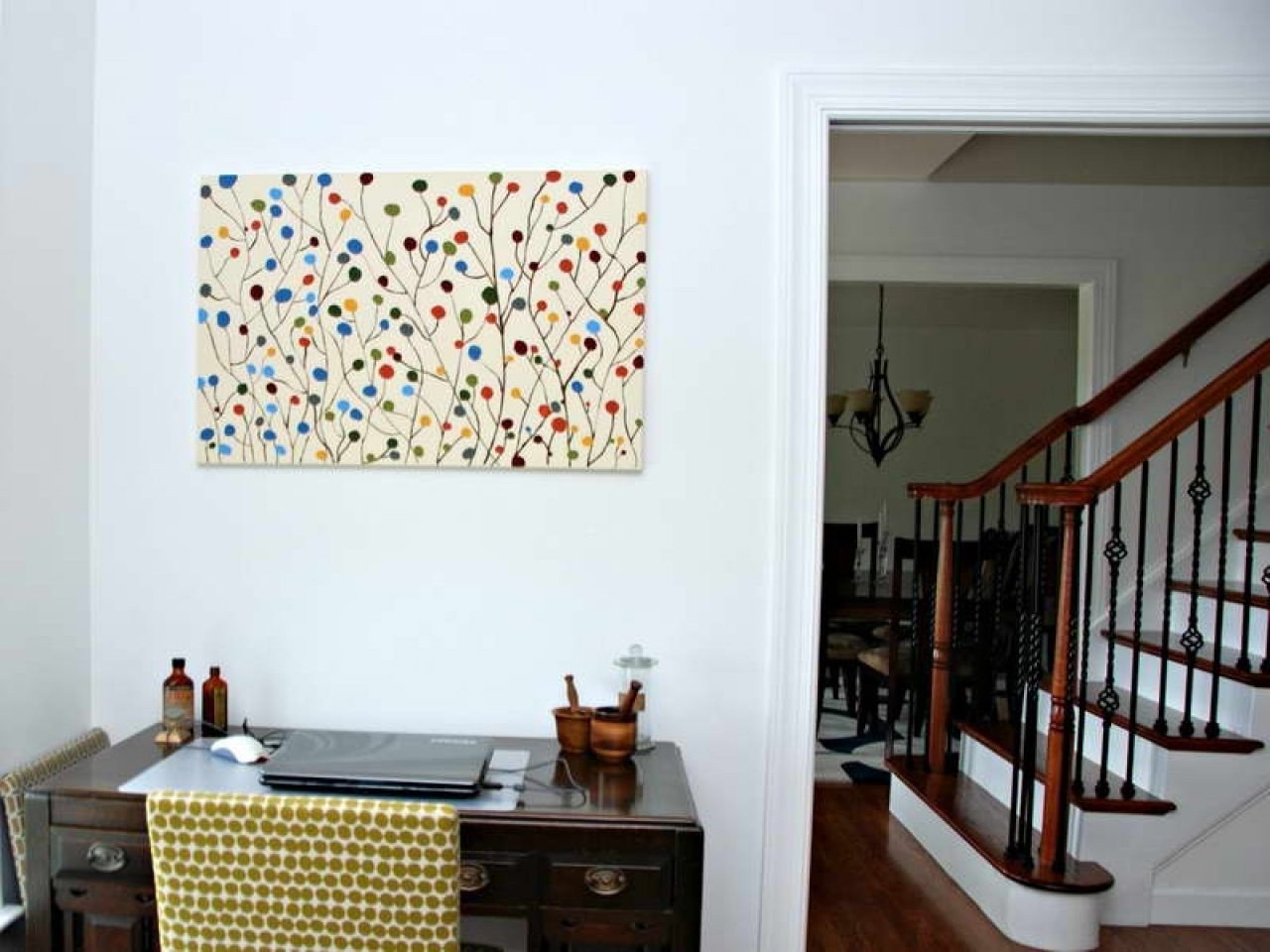 Popular Homemade Wall Art In Wall Table Ideas, Diy Canvas Wall Art Ideas Homemade  Wall