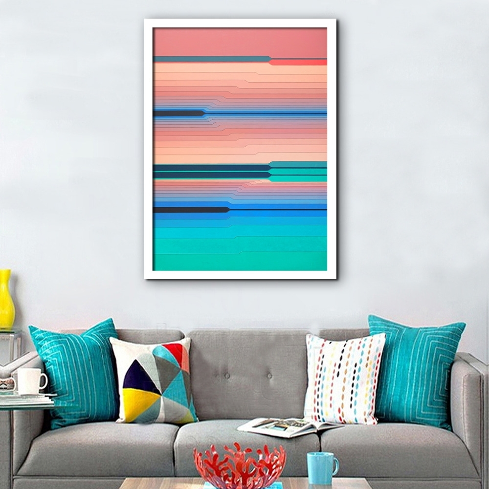 Lovely Popular Horizontal Abstract Wall Art Throughout Wall Art (View 10 Of 15)