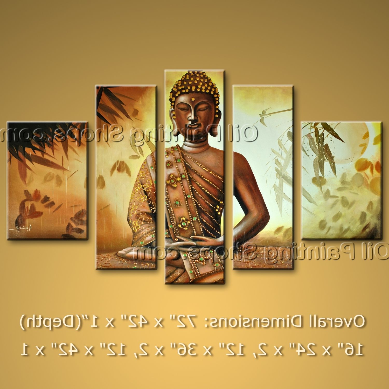 View Photos of Abstract Buddha Wall Art (Showing 8 of 15 Photos)