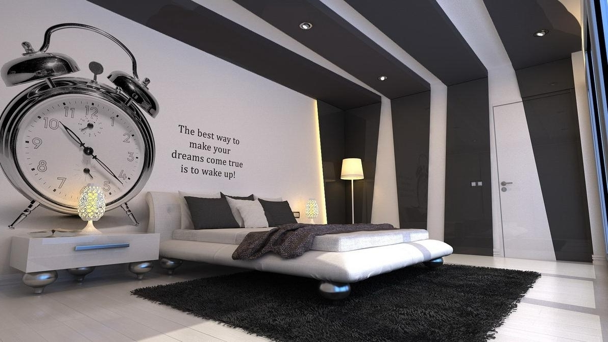 Popular Impressive Black And White Bedroom Wall Art About House Remodel Inside Wall Art For Mens Bedroom (View 7 of 15)