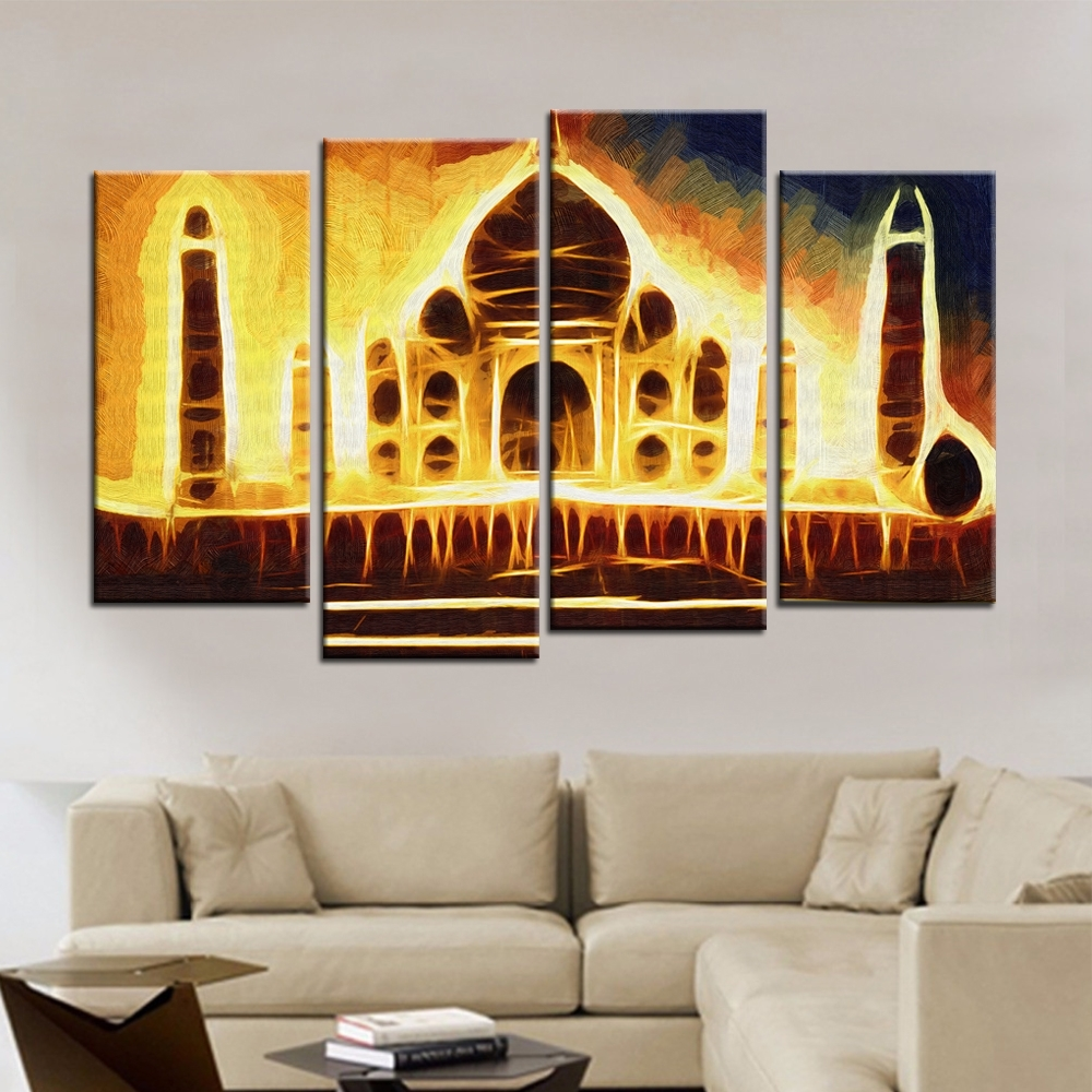 Popular India Abstract Buy Cheap India Abstract Lots From China Intended For Current India Abstract Wall Art (View 2 of 15)
