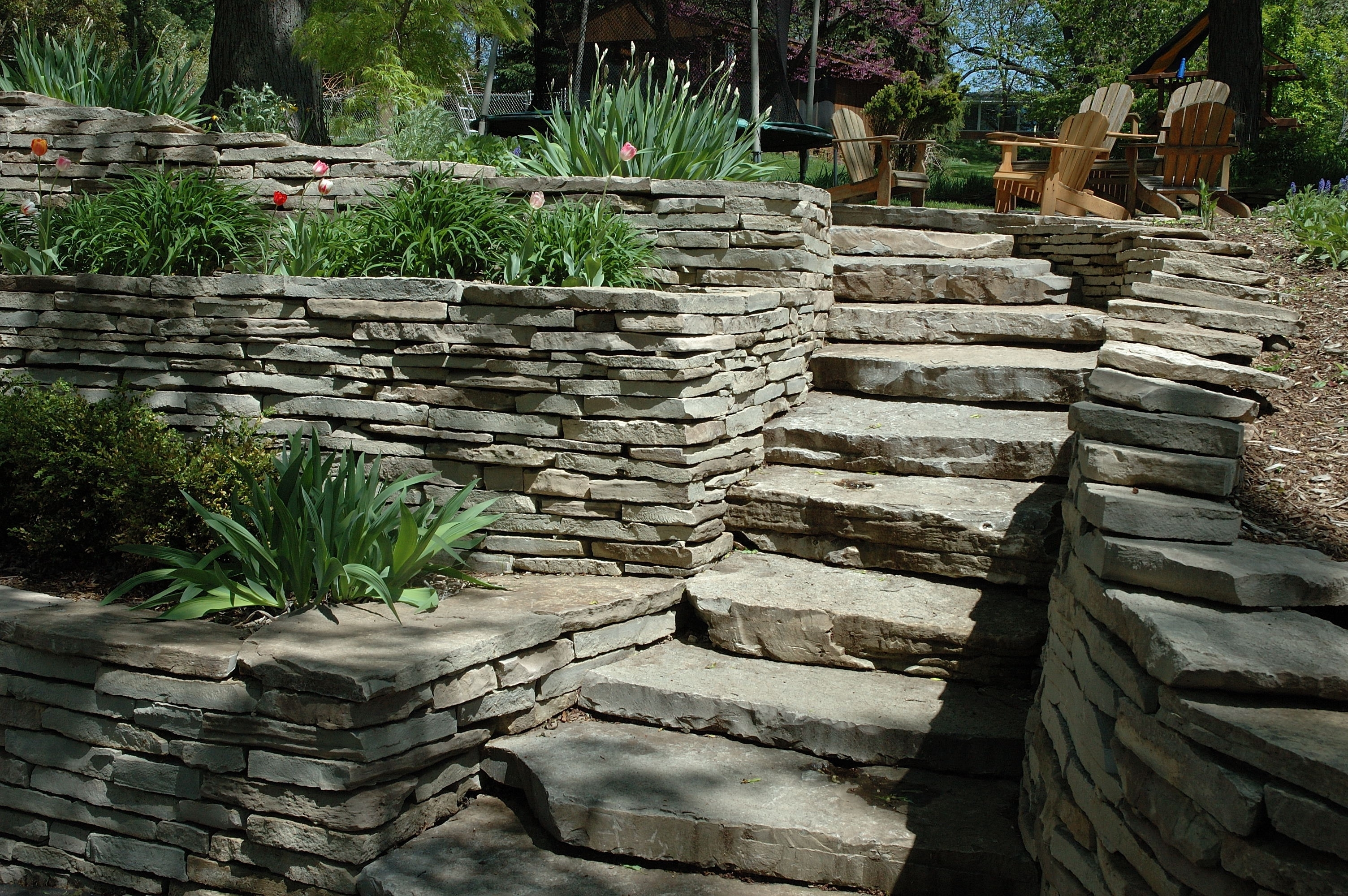 Popular Italian Stone Wall Art Inside Tips To Build Terraced Retaining Wall Wall White Marble Circle (View 11 of 15)