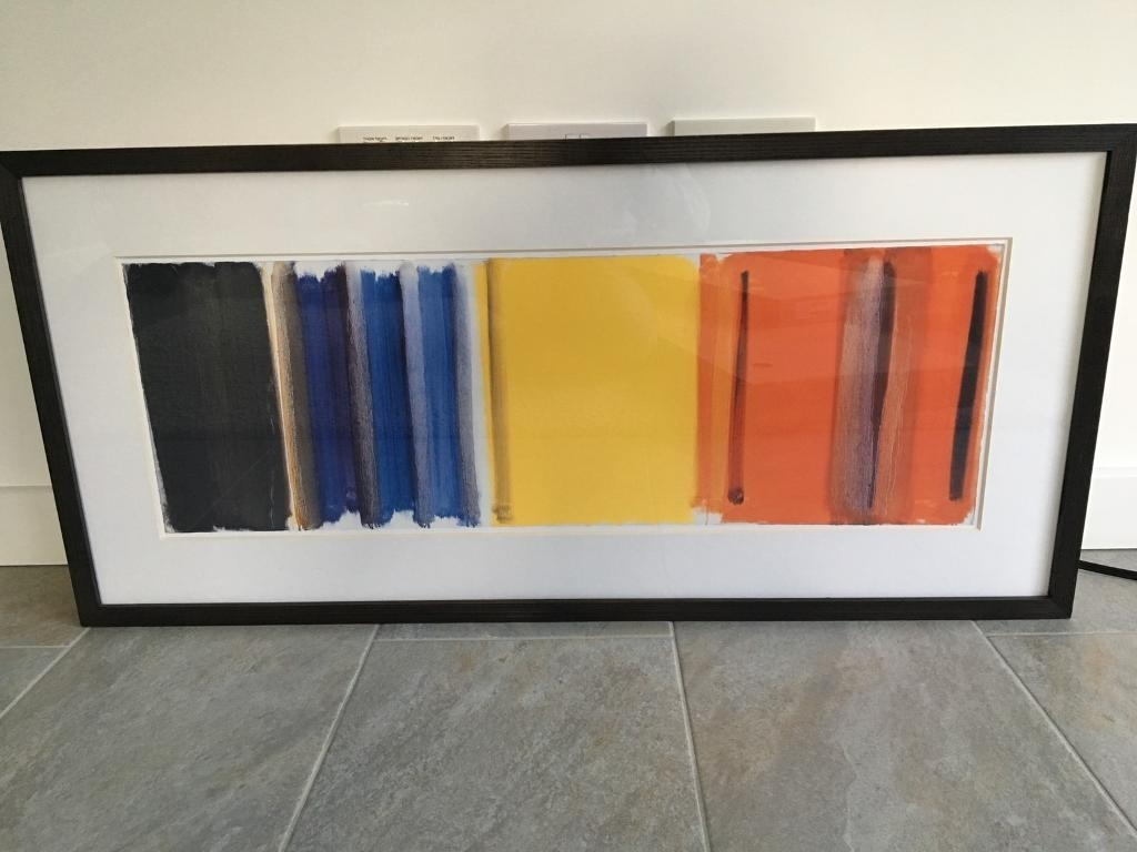 Popular John Lewis Abstract Wall Art Within Large John Lewis Abstract Framed Print (View 13 of 15)