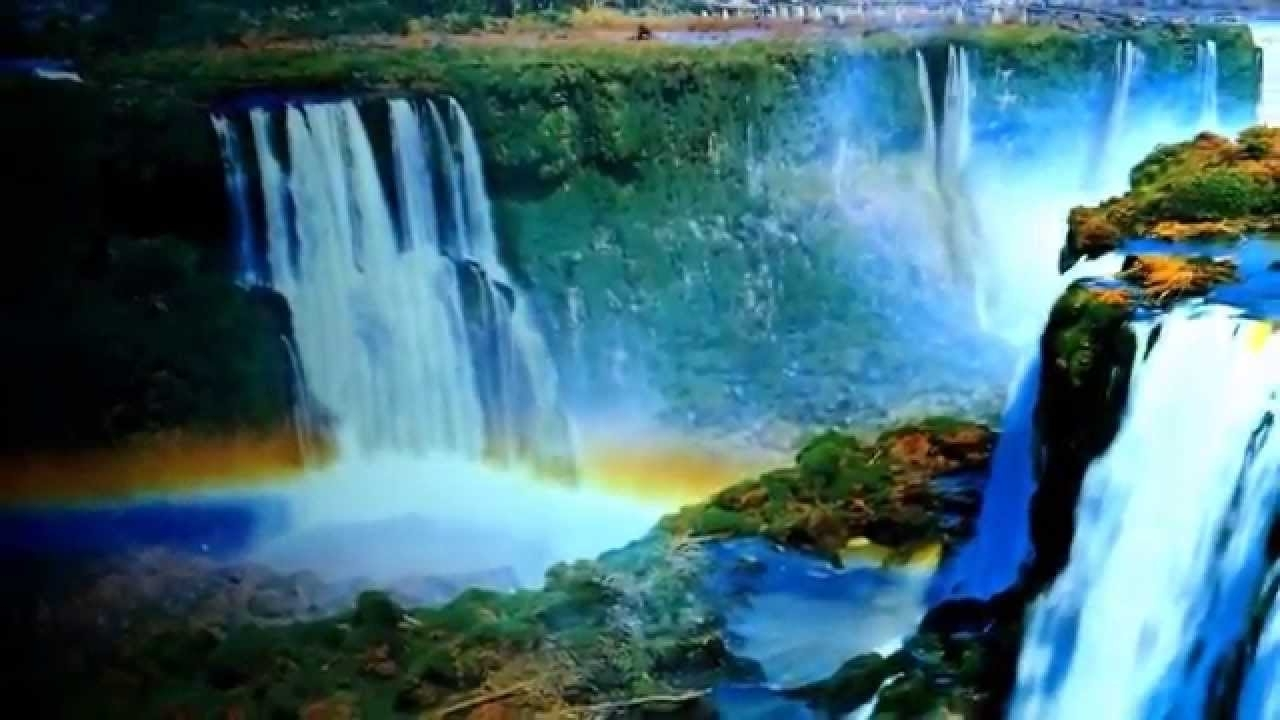 Popular Moving Waterfall Wall Art Pertaining To Waterfall Motion Art For Sale On Ebay – Youtube (View 13 of 15)