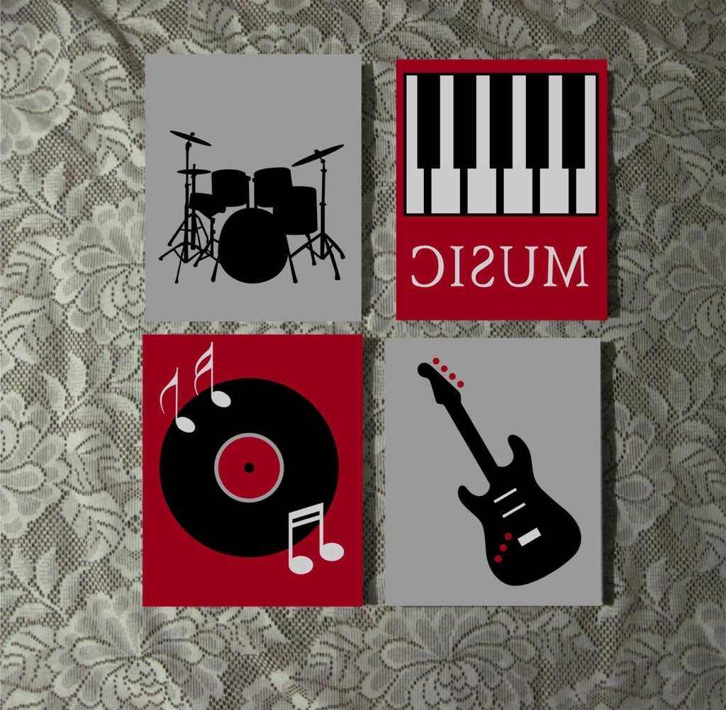 Popular Music Themed Wall Art (View 12 of 15)