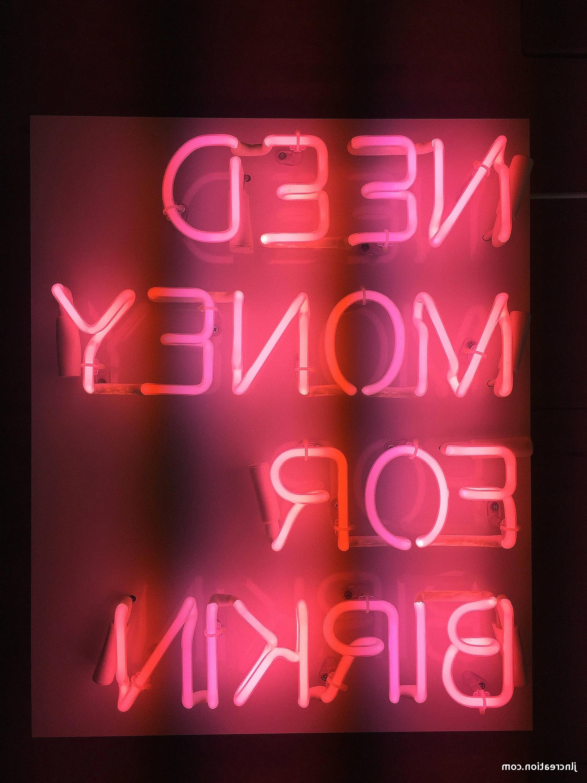 Popular Prissy Design Neon Light Wall Art Plus 34 Best Of Diy Lights Home For Neon Light Wall Art (View 12 of 15)