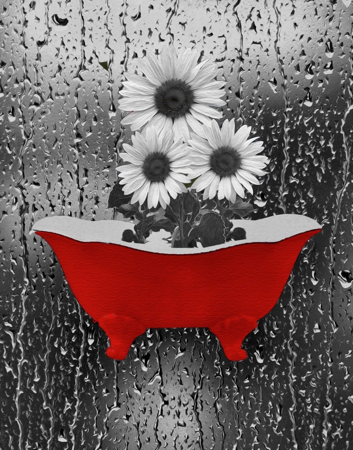 Popular Red Bathroom Wall Art For Red And Grey Bathroom Accessories Black Ideas White Decor Sets Red (View 3 of 15)