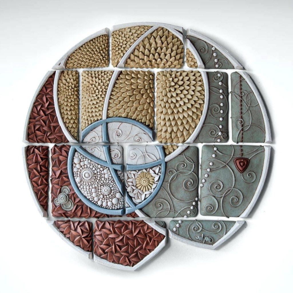 Popular Scattered Italian Plates Wall Art Pertaining To Wall Arts ~ Ceramics Wall Art Scattered Italian Plates Wall Art (View 6 of 15)