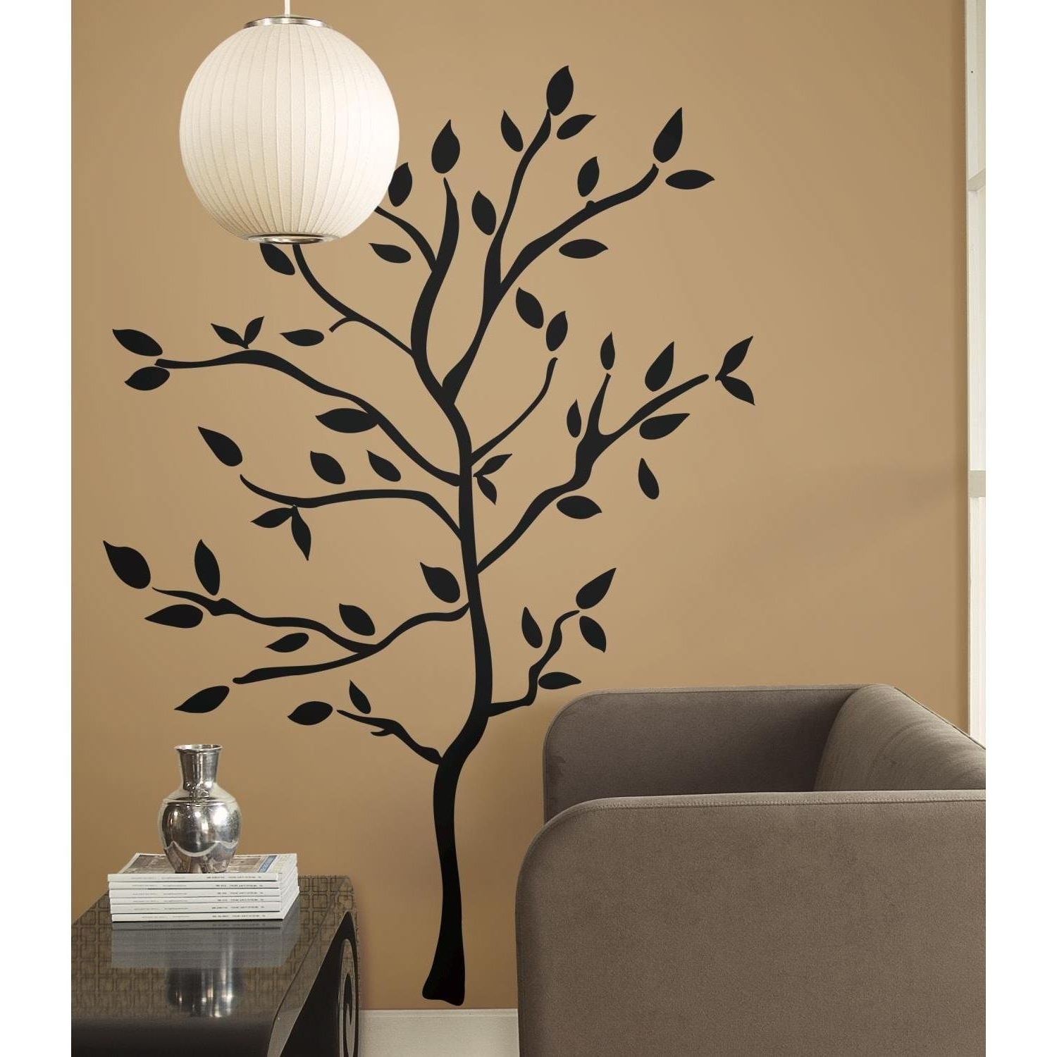 Popular Tree Branch Wall Art For Roommates Rmk1317Gm Tree Branches Peel & Stick Wall Decals – Wall (View 9 of 15)