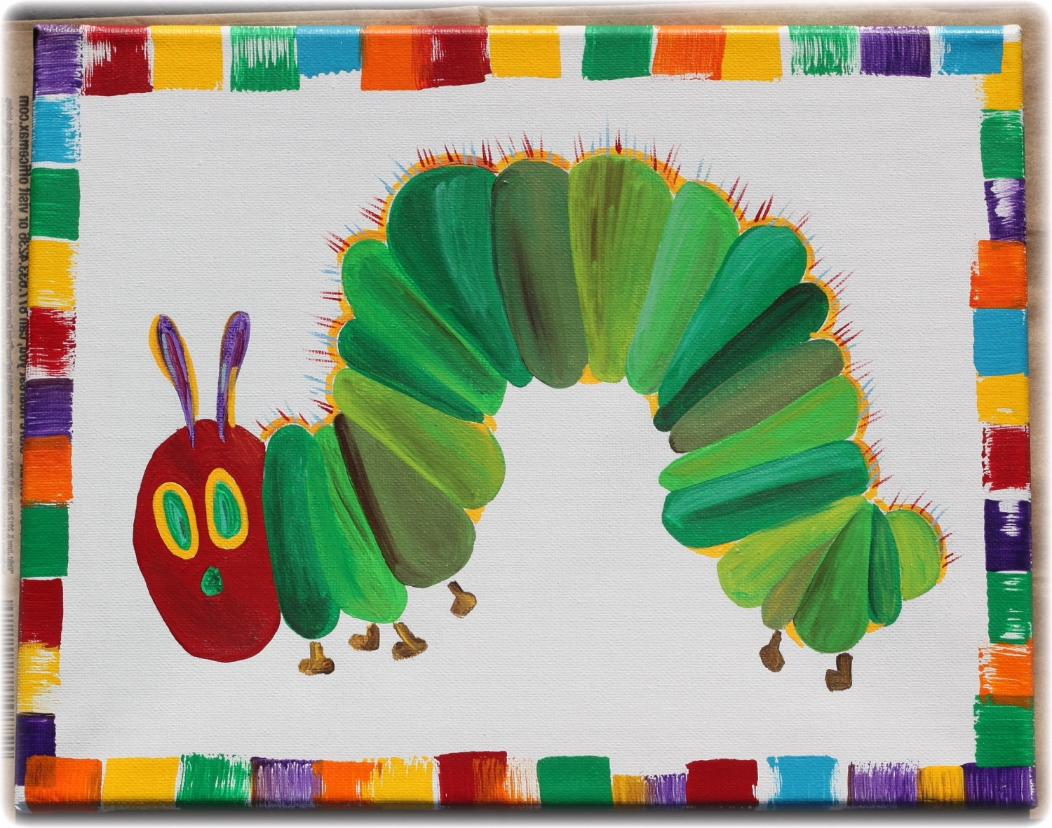 Featured Photo of Very Hungry Caterpillar Wall Art