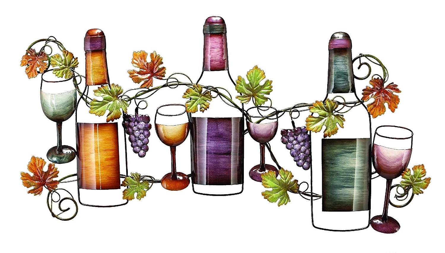 Popular Wine Pertaining To Wine Metal Wall Art (View 3 of 15)
