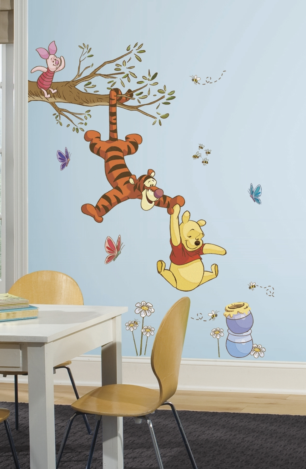 Popular Winnie The Pooh Wall Art Within Nursery Winnie The Pooh Wall Decals Art (View 15 of 15)