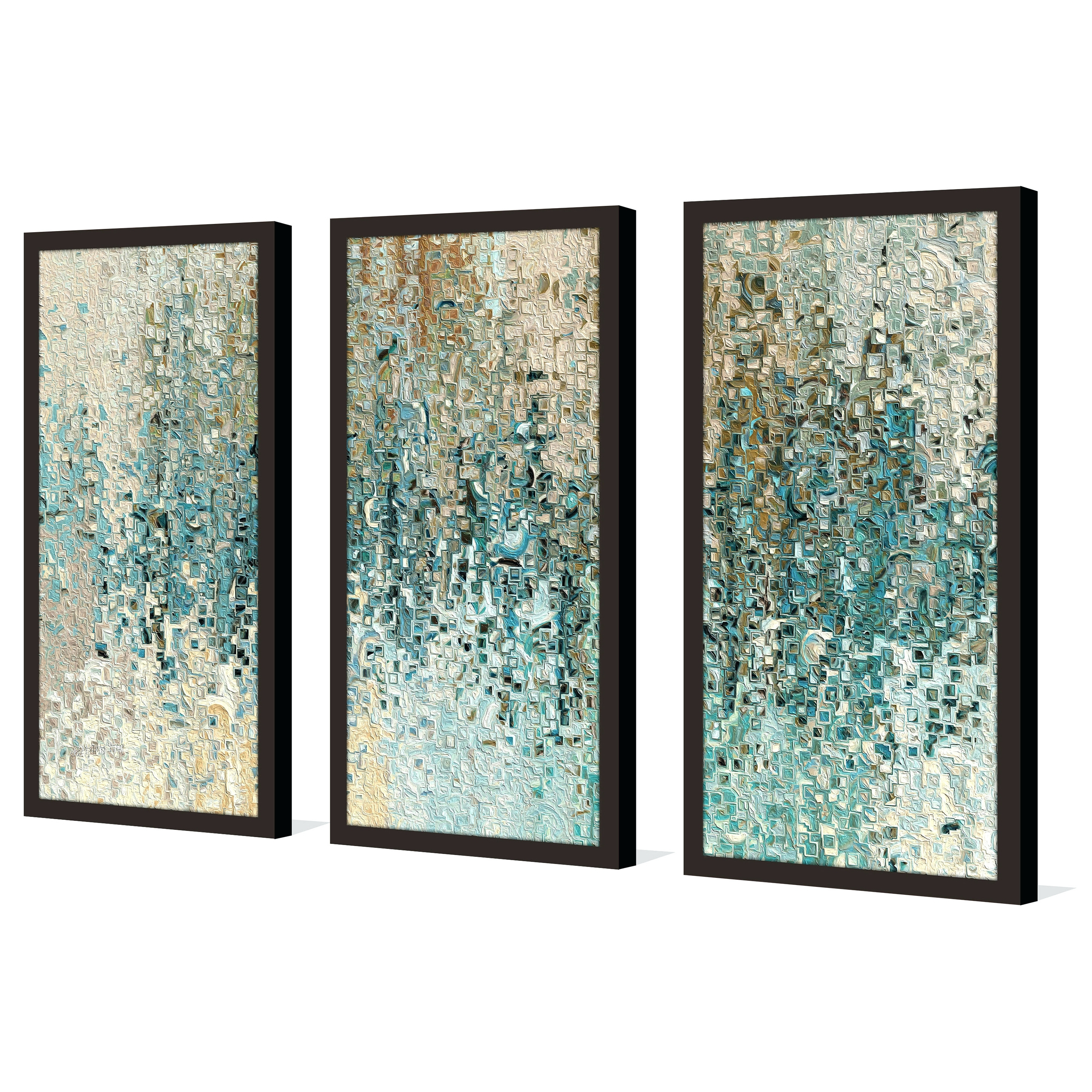 Preferred 3 Piece Wall Art Regarding Wall Arts ~ Set Of Three Canvas Art Three Piece Wall Art Home (View 15 of 15)