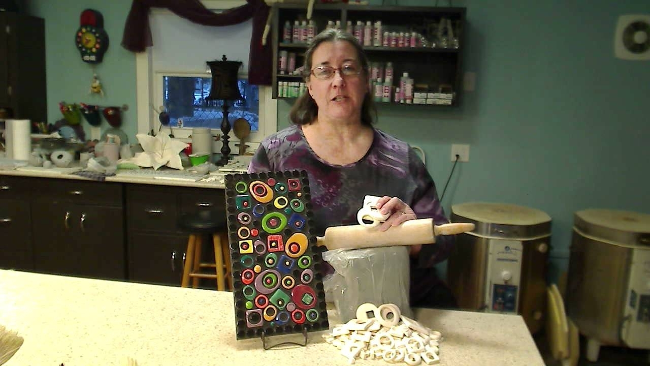Preferred Abstract Mosaic Art On Wall For Abstract Mosaic Wall Piece Featuring Amy Zander – Youtube (View 14 of 15)