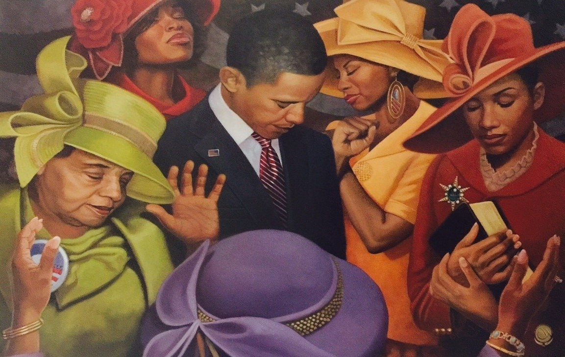 Preferred Amazon: Citizens United ( President Obama – Religious / Church For Framed African American Wall Art (View 12 of 15)